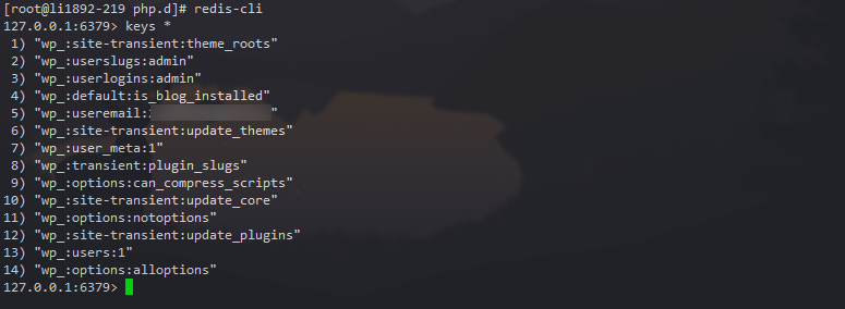 使用Redis Object Cache加速WordPress